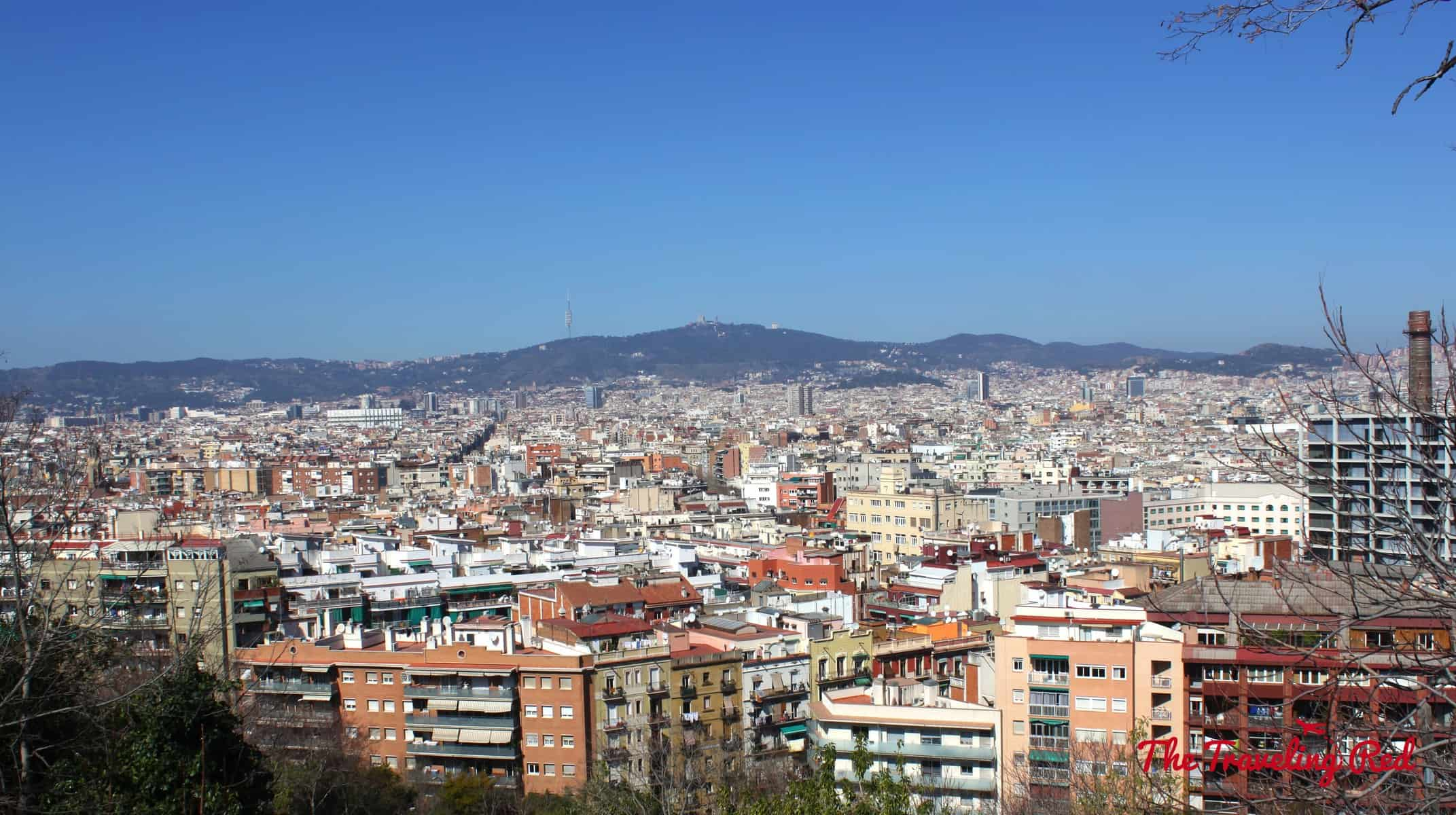 One of the best views of Barcelona, Spain is from Montjuic. Itis known for its sweeping panoramic views of the city.
