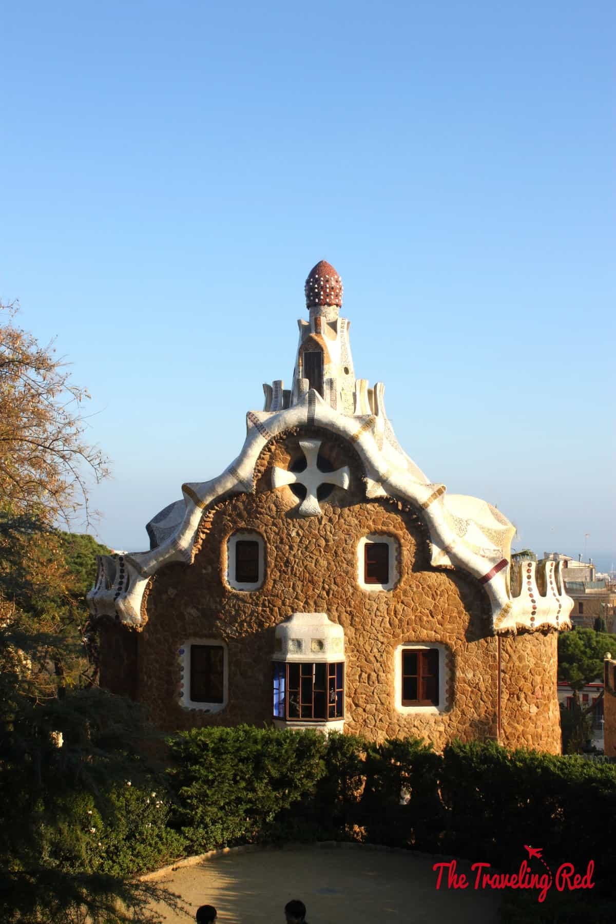 Barcelona, Spain is filled with works by Antoni Guadí. My favorites were the gingerbread house inspired buildings at the entrance of Parc Güell.