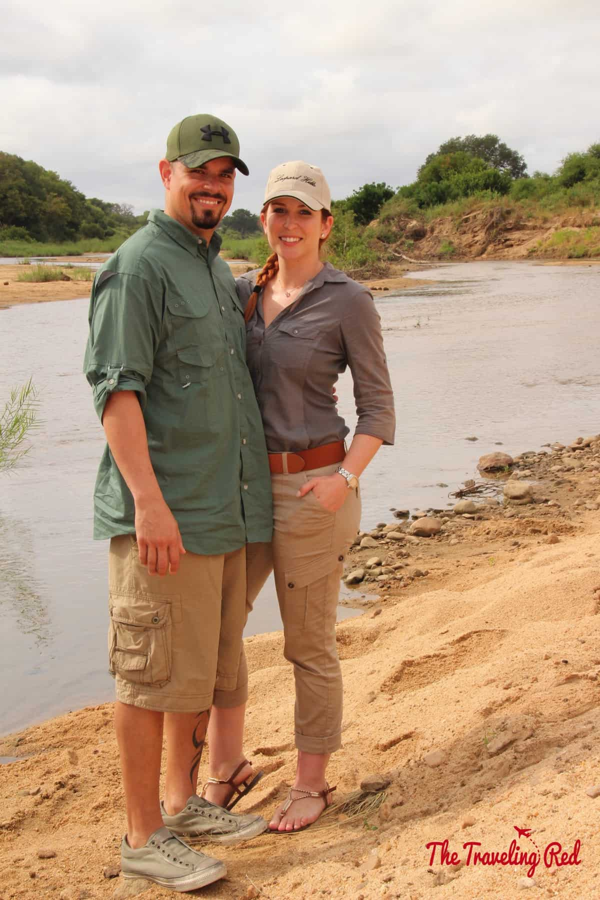 During a break from our game drive