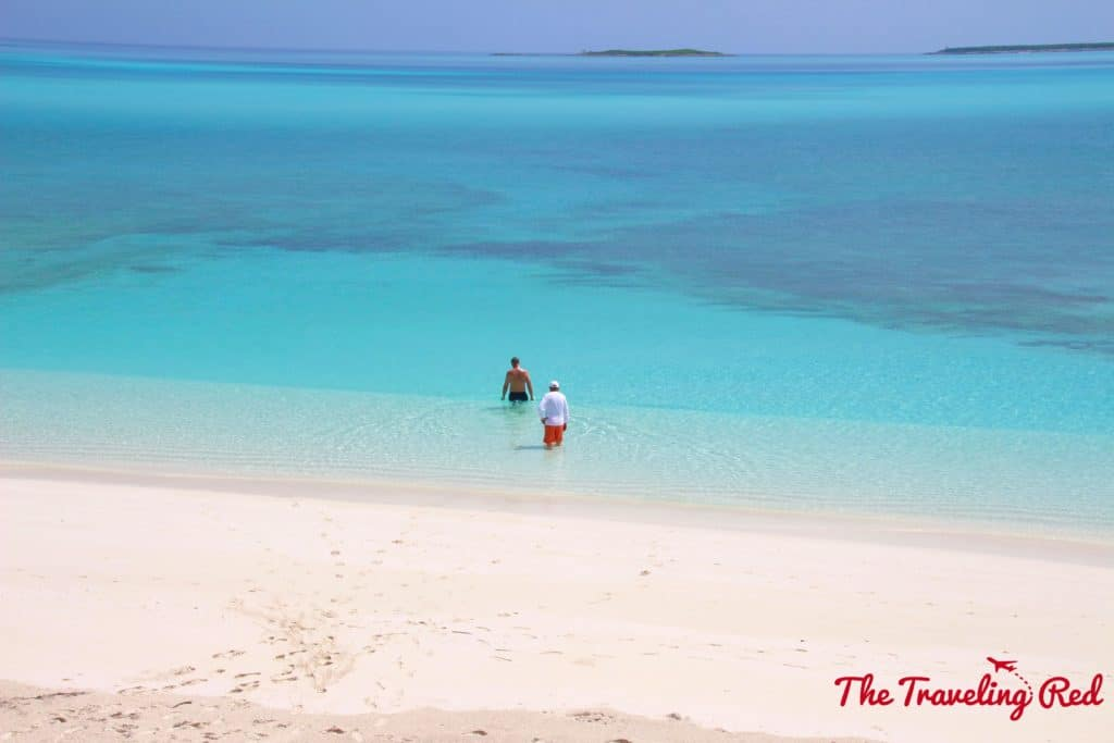 The most beautiful home on a private beach with crystal clear waters in Georgetown, Exuma in the Bahamas.