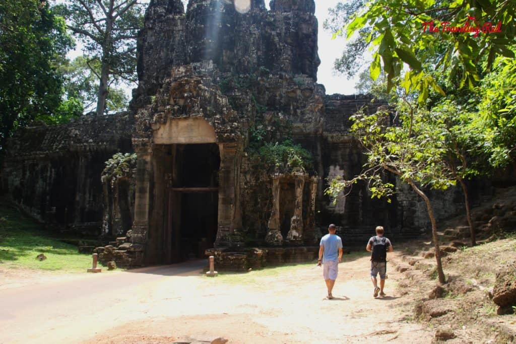 Touring the North Gate | Cambodia Temples | Siem Reap | Angkor Wat | Angkor Passes | Photography Tour | Angkor Archeological Park | Ta Prohm | Tomb Raider | Banteay Kdei | Ta Nei | North Gate | Bayon | Wat Thmey | Monks | South Gate | Preah Khan    #siemreap #angkorwat #cambodia