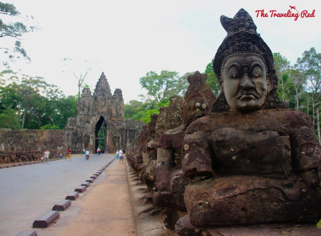 Touring the South Gate | Cambodia Temples | Siem Reap | Angkor Wat | Angkor Passes | Photography Tour | Angkor Archeological Park | Ta Prohm | Tomb Raider | Banteay Kdei | Ta Nei | North Gate | Bayon | Wat Thmey | Monks | South Gate | Preah Khan    #siemreap #angkorwat #cambodia