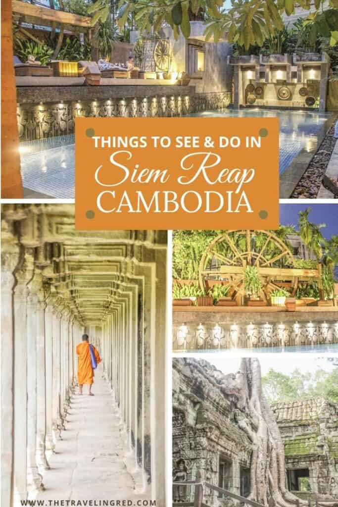 Things to See & Do in Siem Reap Cambodia | Golden Temple Residences | Cooking Class | Cambodian curry | Angkor Wat | Temple Tour | Pub Street | Il Forno | Genevieve | Malis  #siemreap #cambodia #angkorwat