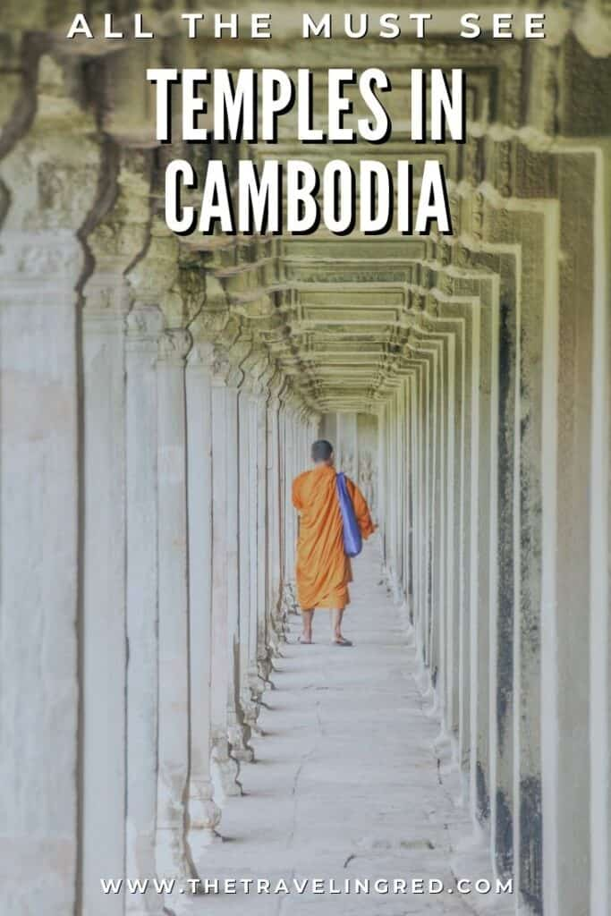 ALL THE MUST SEE TEMPLES IN CAMBODIA |  Cambodia Temples | Siem Reap | Angkor Wat | Angkor Passes | Photography Tour | Angkor Archeological Park | Ta Prohm | Tomb Raider | Banteay Kdei | Ta Nei | North Gate | Bayon | Wat Thmey | Monks | South Gate | Preah Khan    #siemreap #angkorwat #cambodia