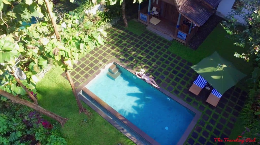 Plataran Hotel in Java, Indonesia. The most beautiful hotel on the island. Our private cottage with a private pool, overlooking the mountain. It's the perfect hotel to stay in for your visit to Borobudur Temple at sunrise. | Indonesia | Java | Plataran Hotel | Sunrise Tour | Borobudur Temple