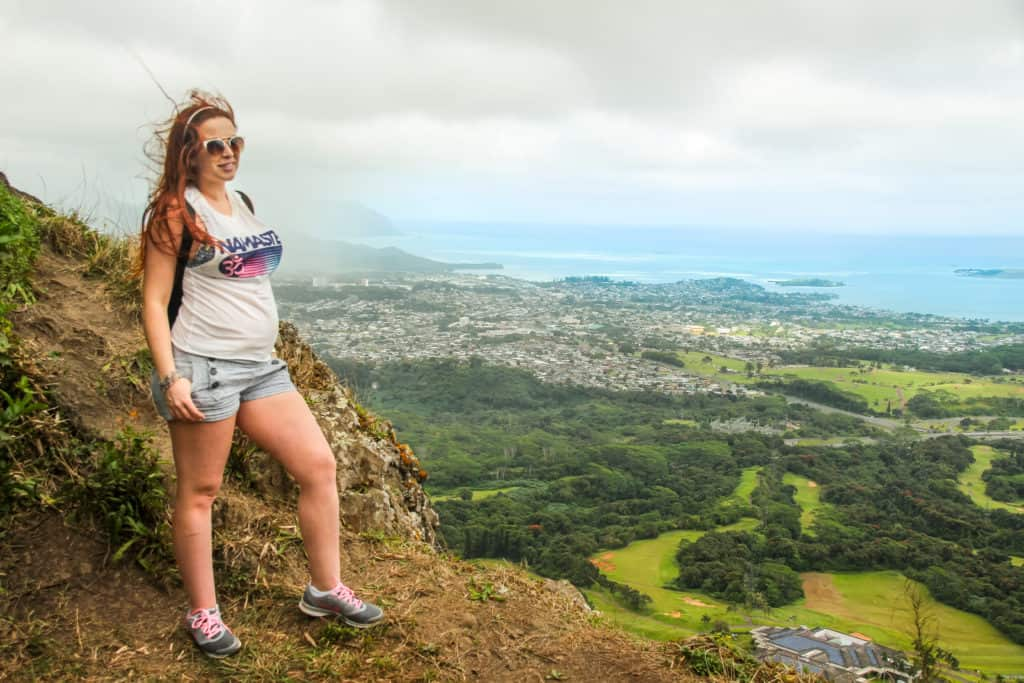 Hiking in Honolulu - Babymoon in Hawaii