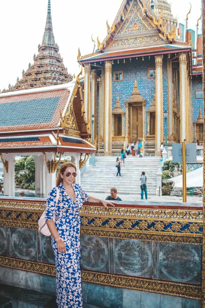 Grand Palace | Bangkok Temples | Bangkok | Thailand | Peninsula Hotel | Lebua Hotel | the dome Sky Bar from Hangover 2 | Peninsula Hotel | Temples | Wat Arun | Wat Pho | Grand Palace | Lord Jims at the Mandarin Oriental Bangkok |  Riding in a tuk tuk | Muay Thai at the Rajadamnern Stadium