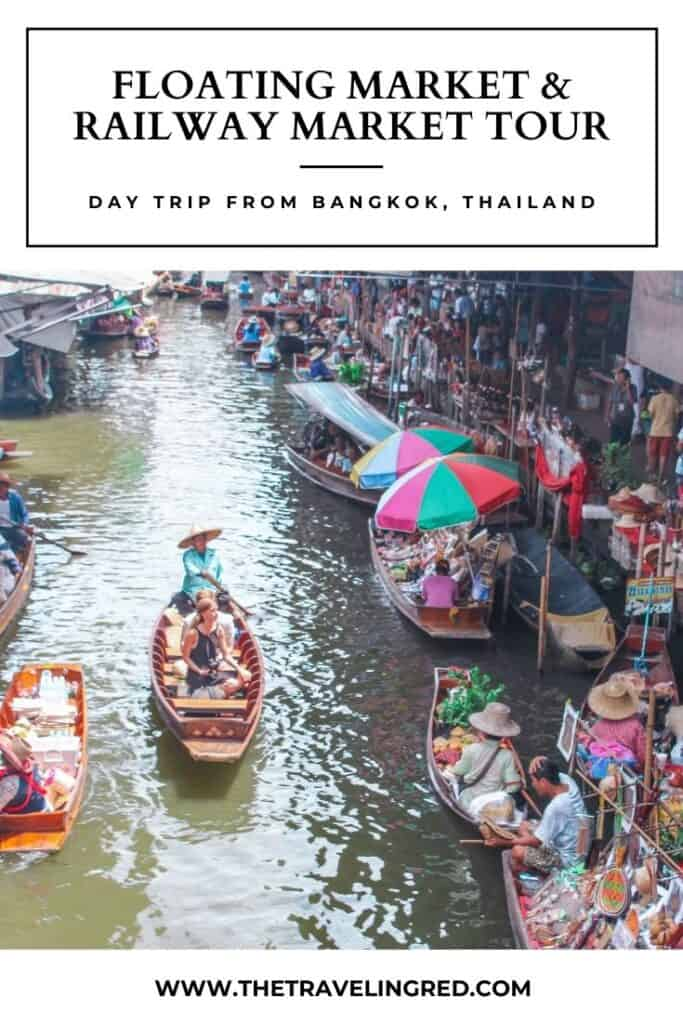 Railway and Floating Market Tour | Day trip from Bangkok Thailand | #bangkok #thailand #tour #marketstour #floatingmarket #railwaymarket