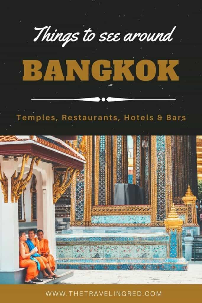 Everything you must see & do in Bangkok | Bangkok | Thailand | Peninsula Hotel | Lebua Hotel | the dome Sky Bar from Hangover 2 | Peninsula Hotel | Temples | Wat Arun | Wat Pho | Grand Palace | Lord Jims at the Mandarin Oriental Bangkok |  Riding in a tuk tuk  #bangkok #thailand