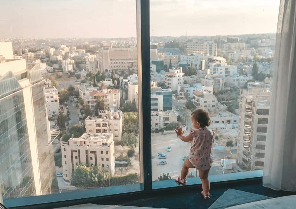 View of Amman, Jordan from the W Hotel | Middle East | Best Vacation Destination | Petra | The Treasury | Dead Sea | Bedouin dinner