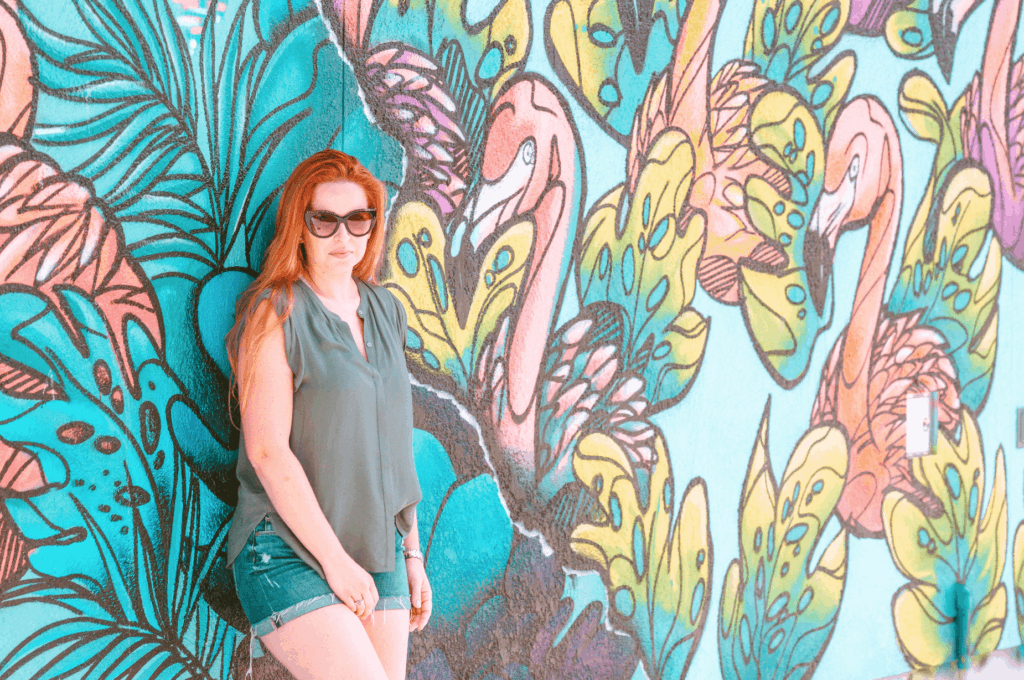 The Miami Walls (similar to Wynwood Walls) but located inside Zoo Miami.