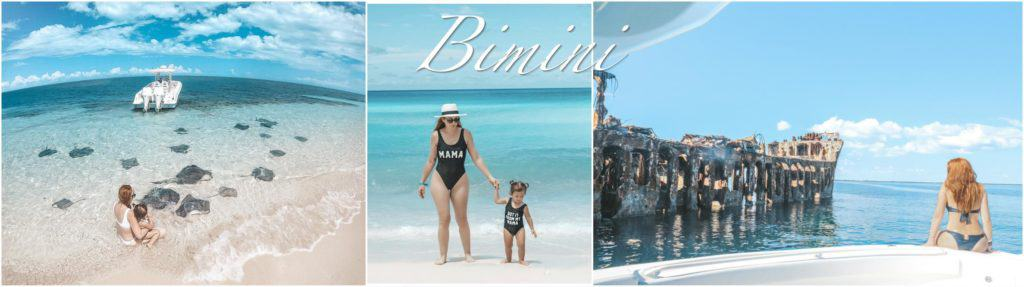 Bimini, the Bahamas. Honeymoon Harbour to hand feed the stingrays, turquoise water beaches and visiting the shipwreck the SS Sapona.