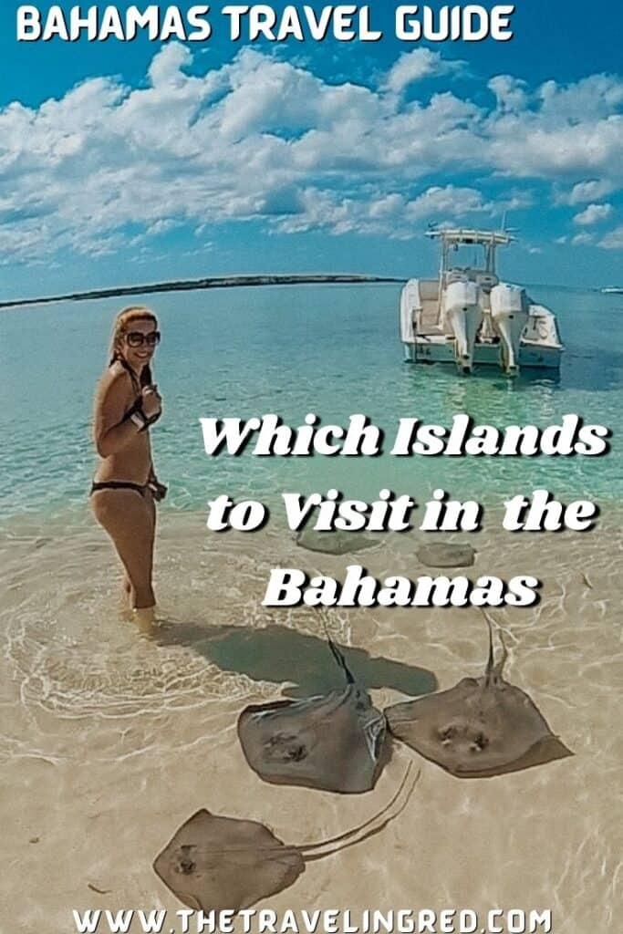 BAHAMAS TRAVEL GUIDE - Which Islands to Visit | What there is to do on each island  | Swimming with Nurse Sharks | Swimming Pigs | Snorkeling Thunderball Grotto, a plane wreck, a shipwreck SS Sapona | Handfeeding stingrays on Honeymoon Harbour | Pink Sands Beach | Atlantis & BahaMar | Aquarium | Waterfall Cave Pool