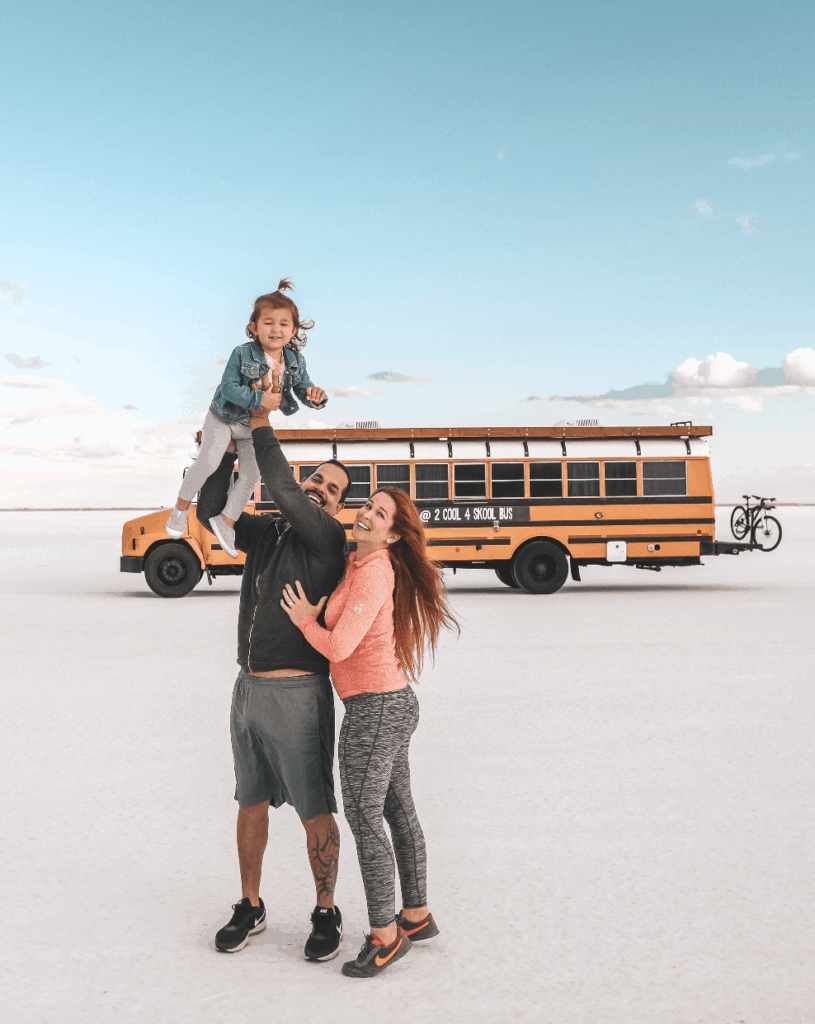 bonneville salt flats school bus conversion skoolie travel itinerary utah things to see
