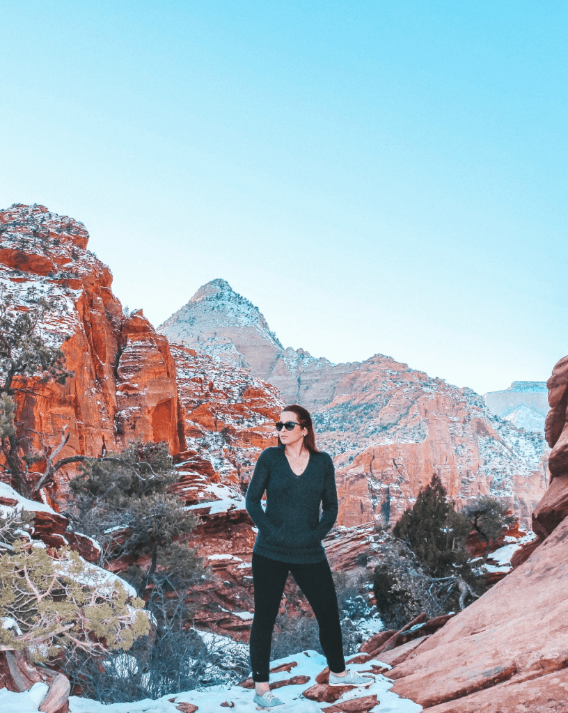 Zion National Park in December - things to see and do in utah