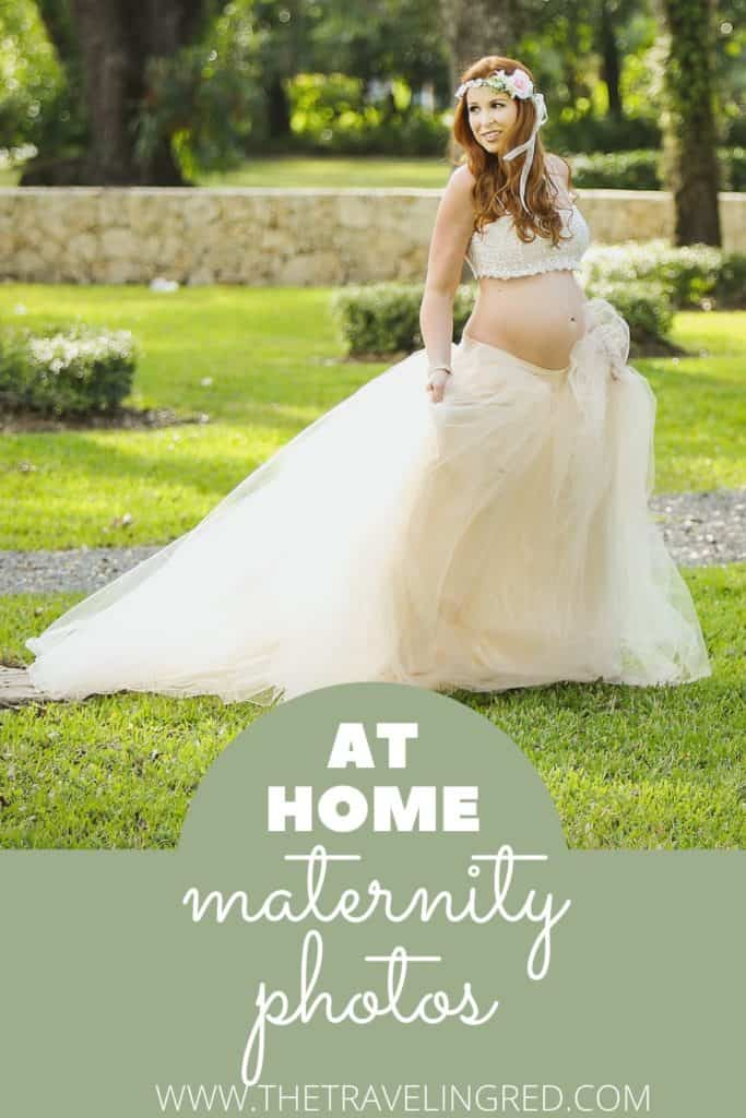 AT HOME MATERNITY PHOTO SHOOT - PREGNANCY PHOTOS, THE BUMP - INSIDE BY WINDOWS, OUTSIDE IN THE GARDEN