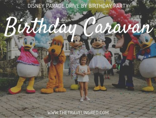 Disney Birthday Parade - Quarantine Drive By Caravan with Mickey, Minnie, Donald, Daisy, Goofy & Pluto