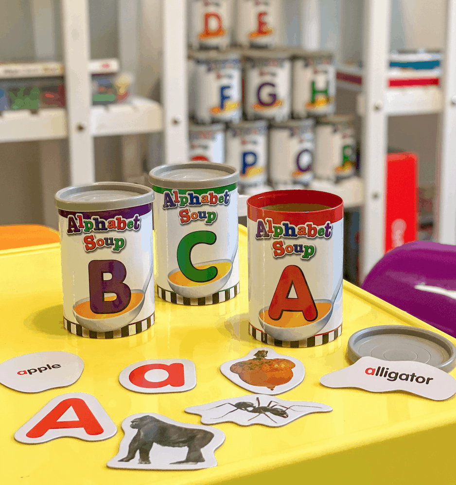 Alphabet Soup - sorting spelling & sight words game | Learning Games | Homeschool | Preschool |Kindergarten | spelling |organizer | learning | back to school | learn to spell | teaching