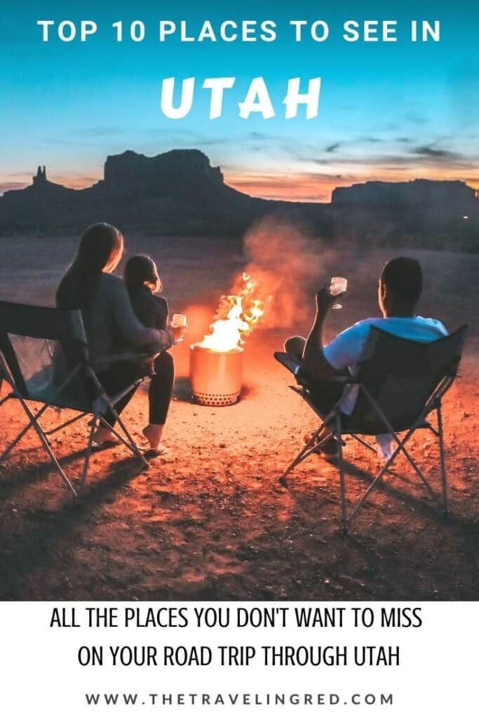The top 10 places to see in Utah. Known for some of the best camping, hiking and incredible national parks, there's so much to see and do in Utah. If you're planning a road trip in the States, make sure you add these places to your itinerary.