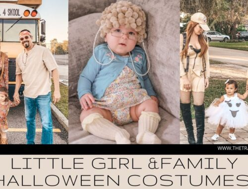 Family & Little Girl Halloween Costume Inspiration | Ideas for Costumes | Old Lady, Viejita, Hippie, Hippies, Ghostbusters, Ghost, Adams Family, Grease, Snow White, Superman, Supermom, Clowns, Wizard of Oz, Cotton Candy, Tiger King, Adams Family #halloween #familycostumes #familyhalloweencostumes #girlcostumes