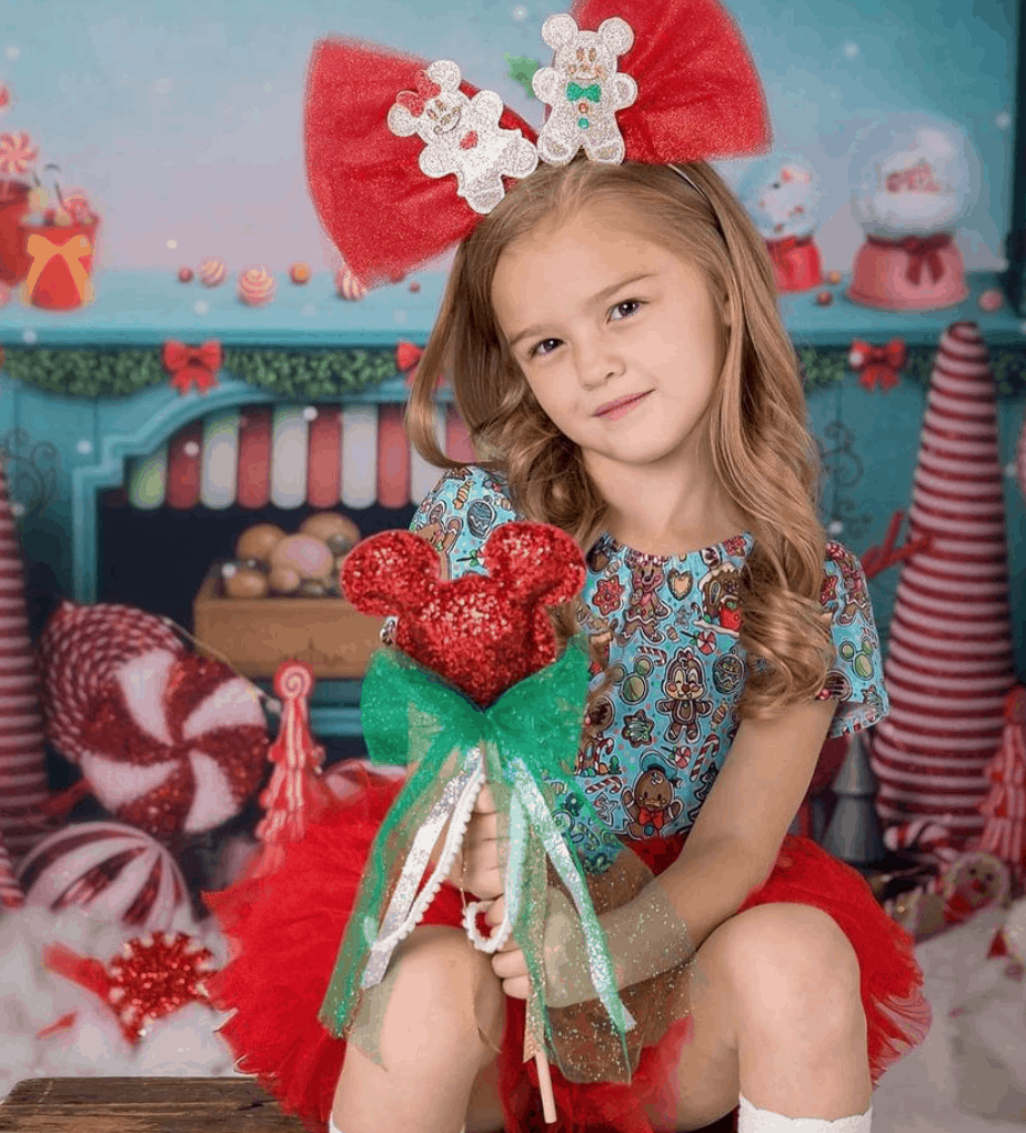 Gift guide for the Disney lover in your life - gifts for any Disney kid, mom or Disney family you love. All gifts from small shops and Disney moms. Disney masks, mask chains, shirts, tumblers, purses, dolls, bows, headbands, ears, wands, clothes, kitchen accessories. #DisneyLover #DisneyBaby #DIsneyMOM #DisneyGifts #Disney