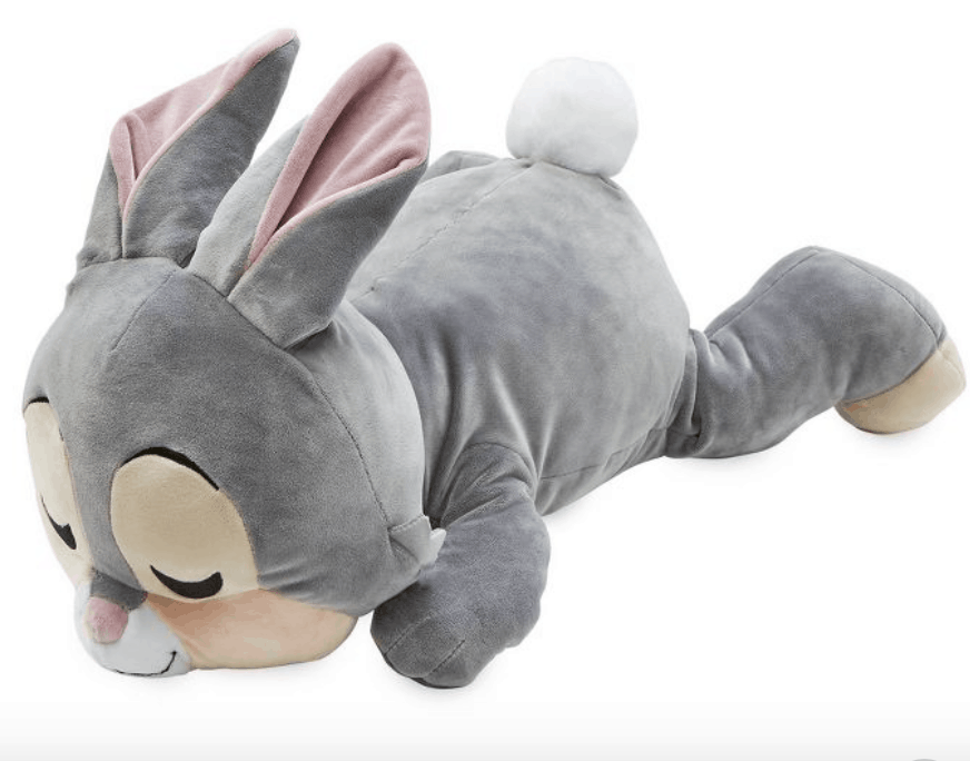 Clickable link to a Thumper body pillow perfect for any Bambi inspired room. It's so soft and cuddly.